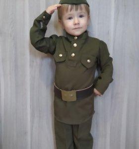 Костюм детский военный на мальчика