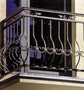 Балкон кованый арт 5