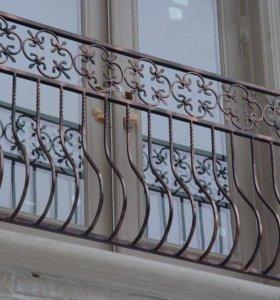 Кованый балкон арт. 6