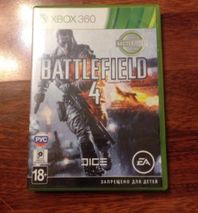Диск X-box 360 EA Battlefield 4.