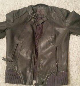 Куртка женская из кожи молодого дермантина