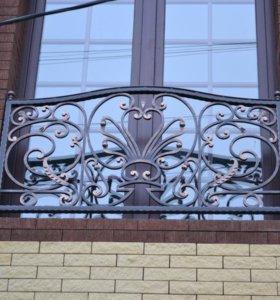 Кованый балкон арт.10
