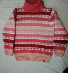Новый свитер 116 размер