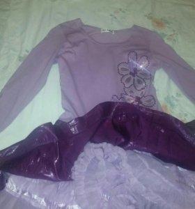 Нарядное Б.у. платье в отличном состоянии