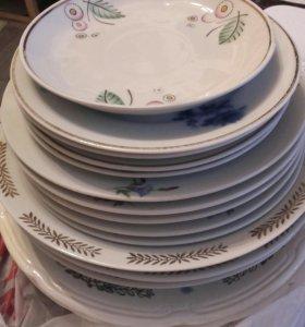 Посуда тарелки