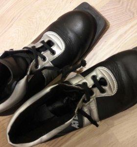 Ботинки лыжные р. 39, 44