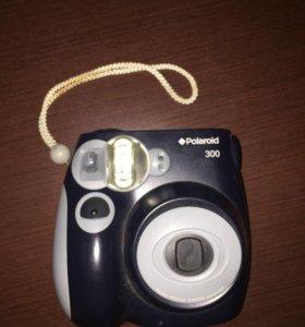 фотоаппарат моментальной печати polaroid pic300