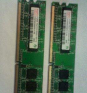 Память 512*2(1Gb)DRR2