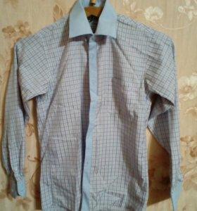 Рубашки на мальчика 11-13лет