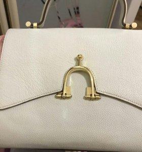 Кожаная сумка гермес