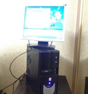"""Компьютер и Монитор BENQ 19"""""""