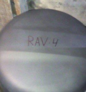 Колпак запасного колеса на Rav 4