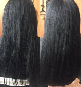 Наращивание ресниц,кератиновое выпрямление волос