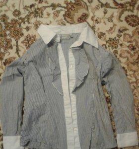 Блузка на девочку 128 размер