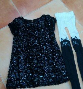 Платье.  размер 104.
