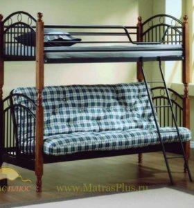 Двухъярусная диван-кровать