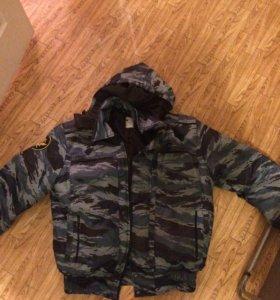 Куртка зимняя фсин