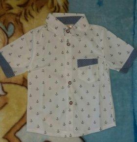 Новая рубашка 90 р-р