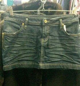 Юбка джинсовая 44-46