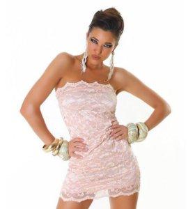 Платье кружево