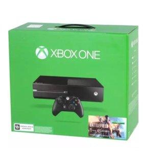 Игровая консоль Xbox one 500 Gb+ игра