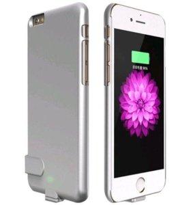 Чехол зарядка на iPhone 6+ 6s+