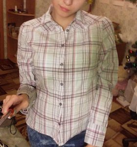 Рубашка O'stin и блуза Promod.