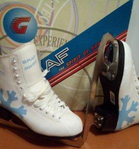 Коньки фигурные Graf Montana Blue Ice