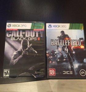 Две игры на X BOX 360