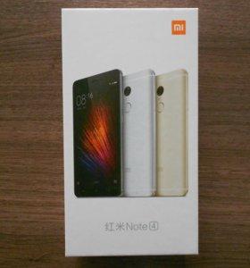 Xiaomi Redmi Note 4 Prime 3/32 Белый/Золотой