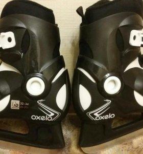 Коньки детские раздвижные Oxelo