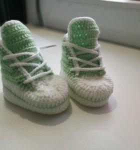 Пинетки-Кеды для малышей