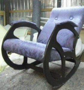 Кресло качалка Релакс, микровелюр Polo 6