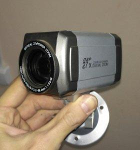 Видеокамер с оптическим зумом