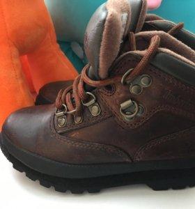 Ботинки детские timberland 24