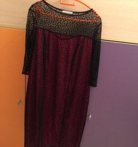 Вечернее платье 54-56 р