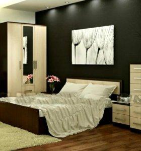 Спальня с матрасом