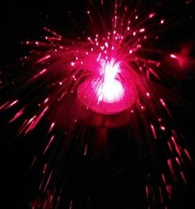 Светильник новый декоративный Мерцающий фонтан