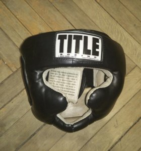 """Боксерский шлем """"Title"""""""