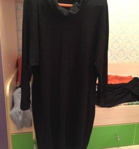 Черное платье 54-56 р