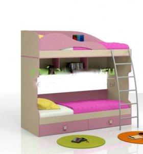 Кроватка радуга