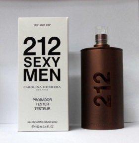 Духи тестер 212 SEXY MEN