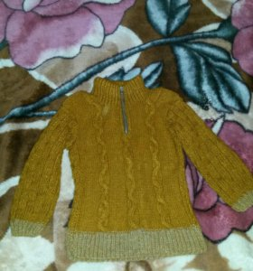 свитер самовязка