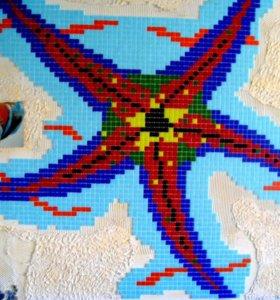 Работы с мозаикой
