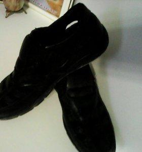 Кожаная обувь для мальчика