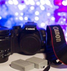 Canon 1000d + объективы