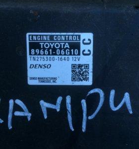 Блок управления двигателем для Camry 89661-06G10