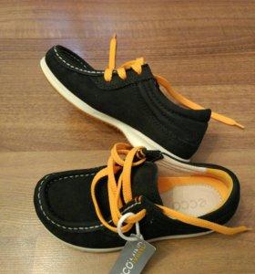 Мокасины на шнурках  Ecco