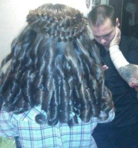 Прически, стрижки, окрашивание волос.