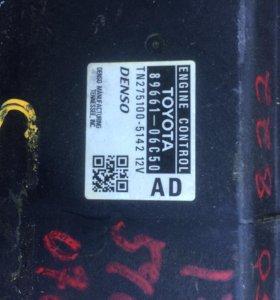 Блок управления двигателем камри 89661-06C50